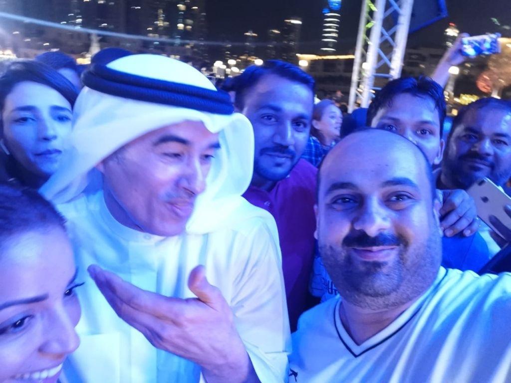 Сами Аль-Хелали вместе с миллиардером Мохаммед Аль-Аббар - владелец Бурдж-Халифа в Дубае.