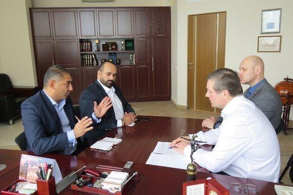 لقاء الدكتور سامي الهلالي Встреча с доктором Сами Аль-Хелали