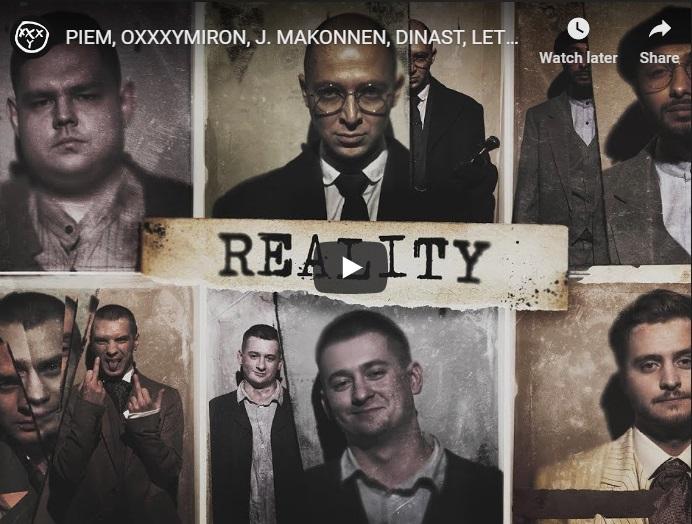 Новый трек Оксимирона Реалити Текст песни. PIEM, OXXXYMIRON, J. MAKONNEN, DINAST, LETAI, PALMDROPOV - «REALITY»